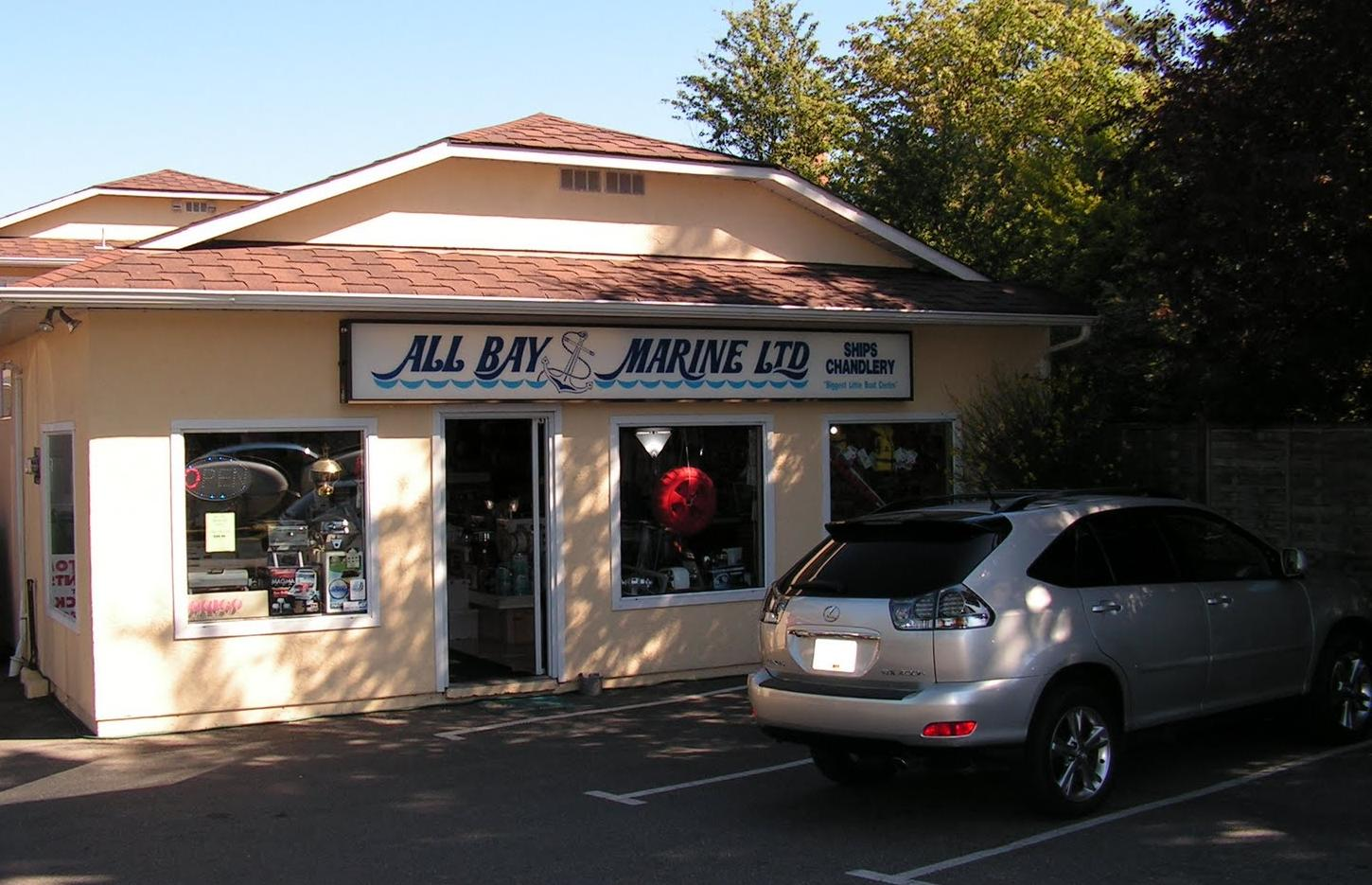 All Bay Marine Store Front